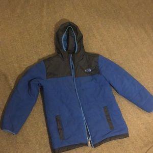 North Face reversible coat